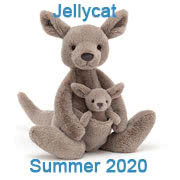 Jellycat new soft toy designs for Summer 2020 coming with UK and USA delivery