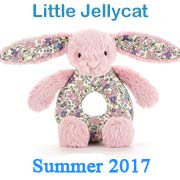 Little Jellycat New Designs Summer 2017