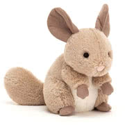 Jellycat Cheeky Chinchilla Sandy and Misty designs