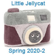 Jellycat New Baby Safe Designs for Spring 2020 page two featuring Wiggedy Camera and Phone
