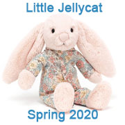 Jellycat New Baby Safe Designs for Spring 2020 coming with UK and USA delivery