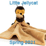 Jellycat Spring 2021 new baby toys and soothers including little rambler soothers and rattles