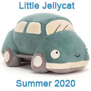 Jellycat summer 2020 new baby toys and soothers including Wizzi Car and Boing Balls