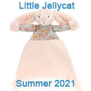 Jellycat Summer 2021 new baby toys including Bashful Blossom Soothers