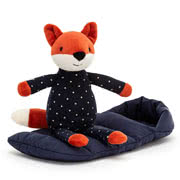 Jellycat Snuggler Bunny, Cat and Fox soft toys