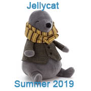 Jellycat New soft toy designs for Summer 2019