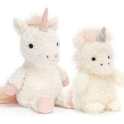 Every Jellycat Unicorn design with UK and USA delivery options
