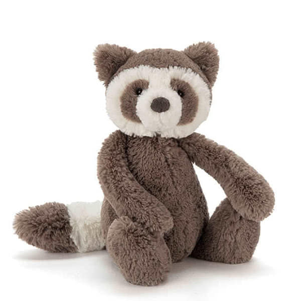 Jellycat Bashful Raccoon Small