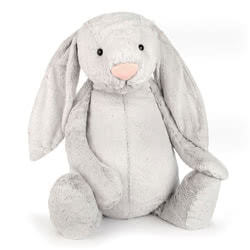 Bashful Silver Bunny Very Big