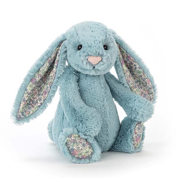 Jellycat Blossom Aqua Bunny Small 163 10 95