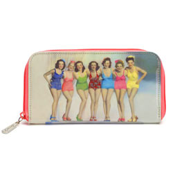 Bathing Belles Zip Wallet