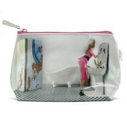 Doll in Bathroom Small Bag