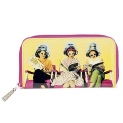 Hairdressing Salon Zip Wallet
