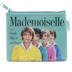 Mademoiselle Coin Zip Purse