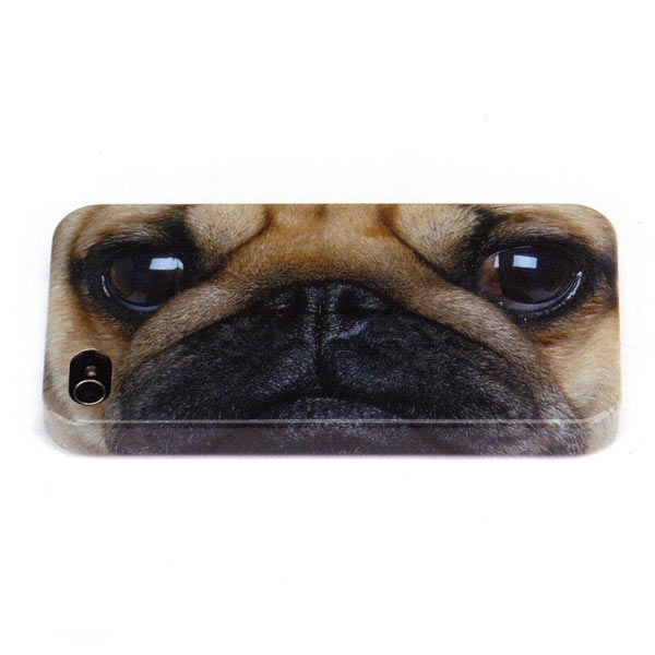 JellycatPug iPhone 4/4S Shell