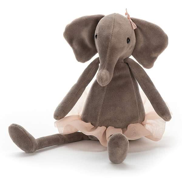 JellycatDancing Darcey Elephant Small