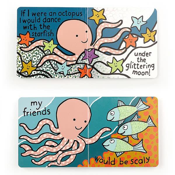 Jellycat If I Were An Octopus Book 163 7 95
