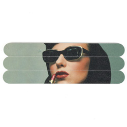 Lipstick Woman Nail Files