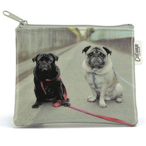 Jellycat Catseye Road Pugs Zip Purse