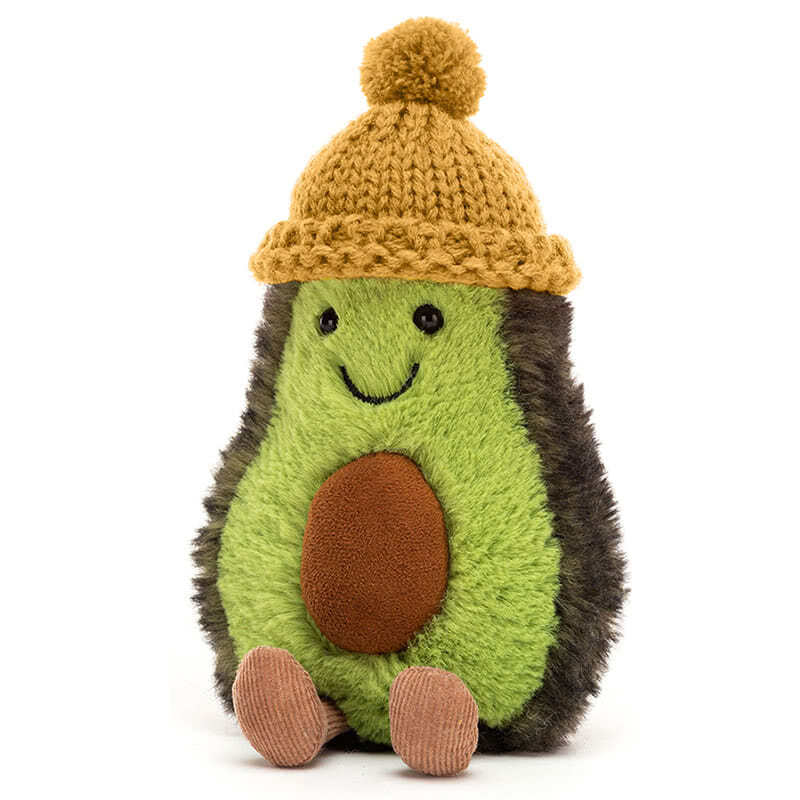 JellycatAmuseable Cozi Avocado Mustard