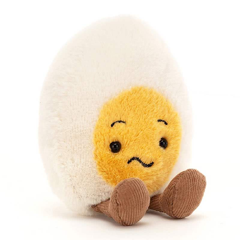 JellycatConfused Boiled Egg