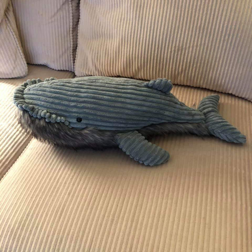 Jellycat Wiley Whale soft toys
