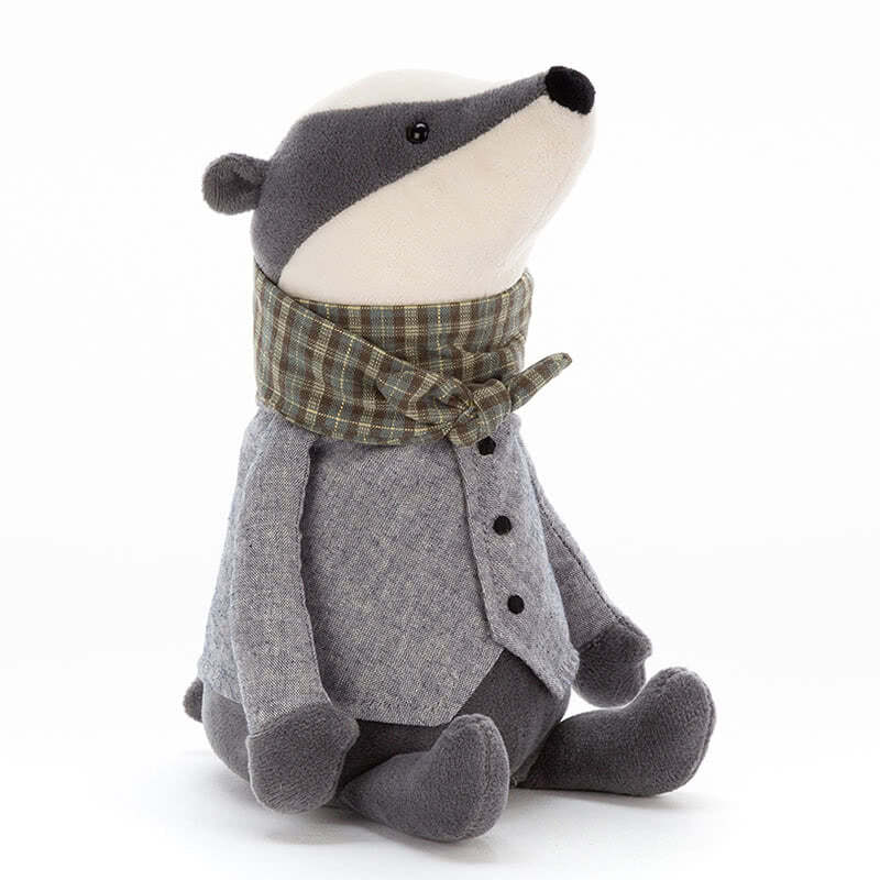 Jellycat Riverside Ramblers Badger
