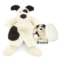 Boubou Black and Cream Puppy Soother