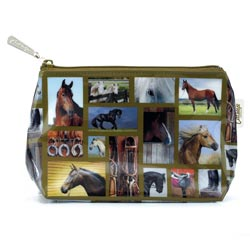 Horse Gallery Small Bag