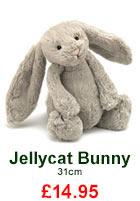 Jellycat Bashful Beige Bunny £13.95