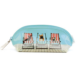 Deckchair Dogs Oval Bag