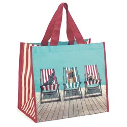Deckchair Dogs Shopper