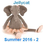Jellycat What's New Summer 2016-2