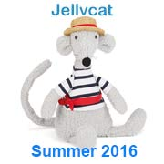 Jellycat What's New Summer 2016