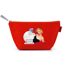 Red Glamour Girl Small Bag