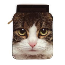 Tabby Cat iPad Sleeve