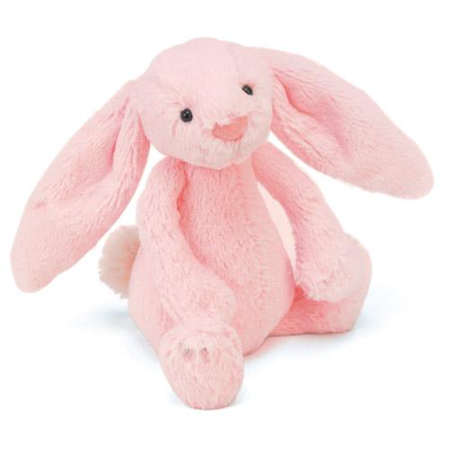 Little Jellycat Bashful Pink Bunny Rattle 163 7 95