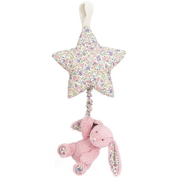JellycatBlossom Tulip Bunny Musical Pull