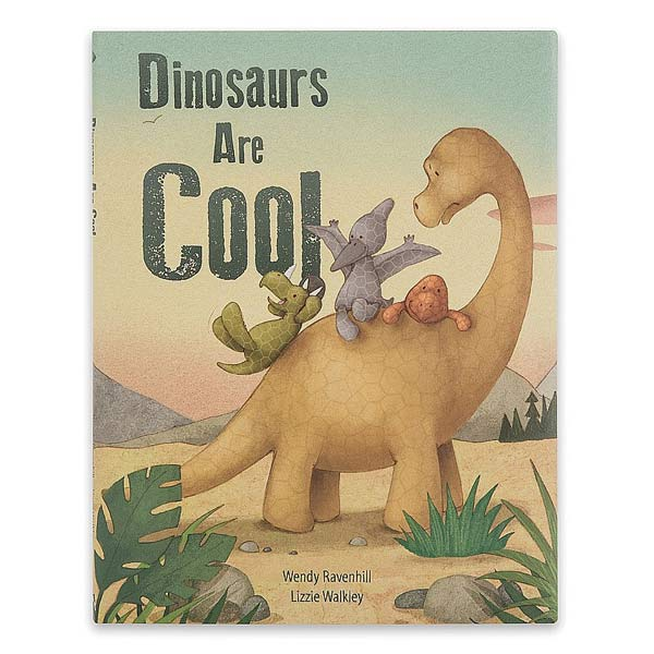 Little Jellycat Dinosaurs Are Cool Book