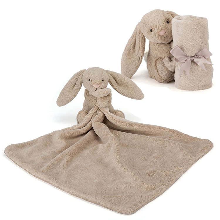Little Jellycat Bashful Beige Bunny Soother