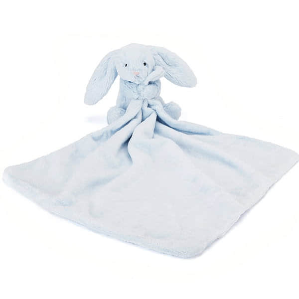 Little Jellycat Bashful Blue Bunny Soother