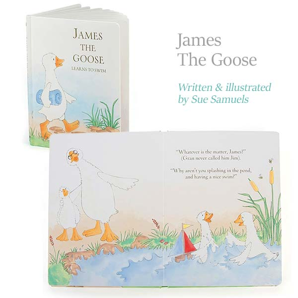 James the Goose Book