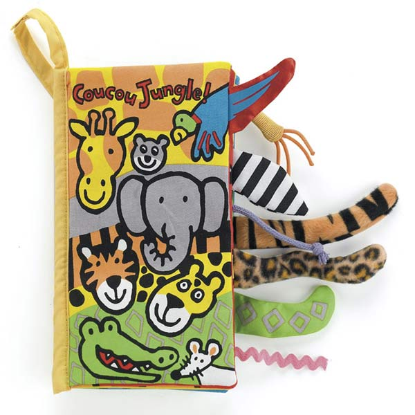 Little Jellycat Coucou Jungle Book - French