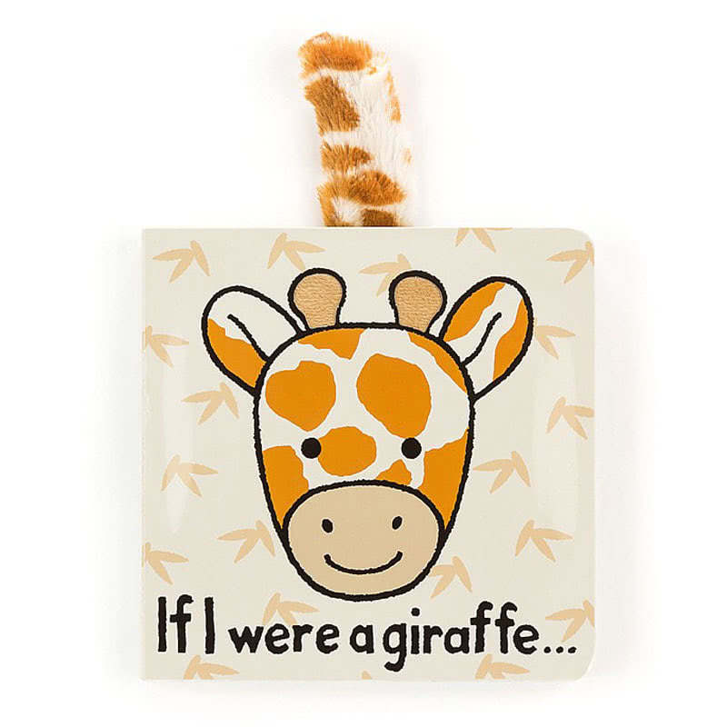 Little Jellycat If I Were A Giraffe Book