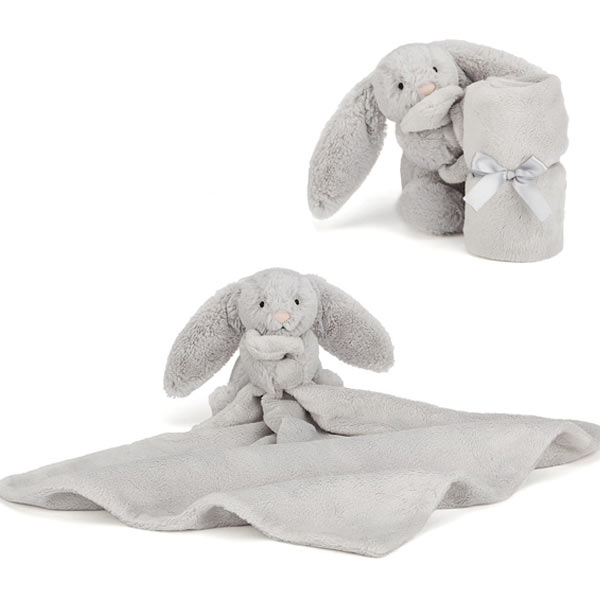JellycatBashful Silver Bunny Soother