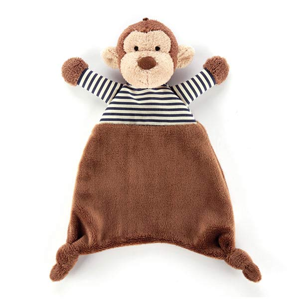 Little Jellycat Stripey Monkey Soother