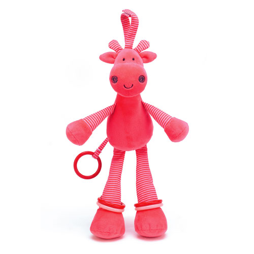 Little Jellycat Toggle Giraffe Activity Toy