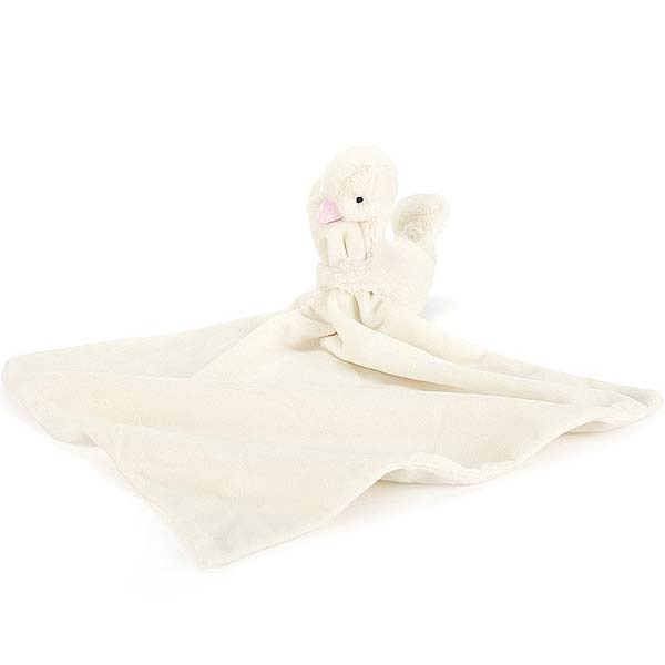 Little Jellycat Syllabub Pink Swan Soother