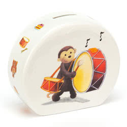 Bashful Monkey Money Box