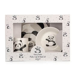 Harry Panda Bowl Cup Plate
